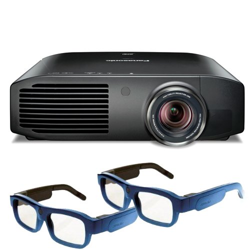 Panasonic PT AE8000U Theater Projector Glasses