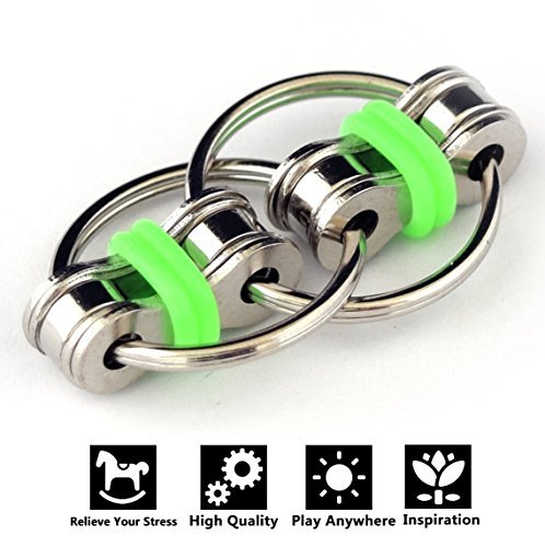 Price comparison product image Flippy Chain Fidget Toy Idle Hands Relieve Stress Reducer for Autism, ADD, ADHD, and Autism Boredom your Finger Tips