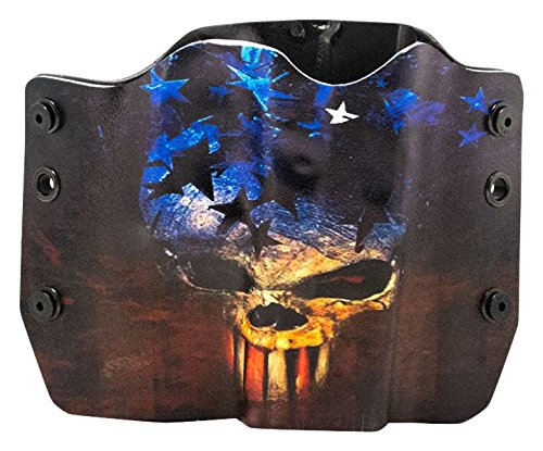 Skull Flag OWB Holster (Right-Hand, Springfield XD 40/45 ...