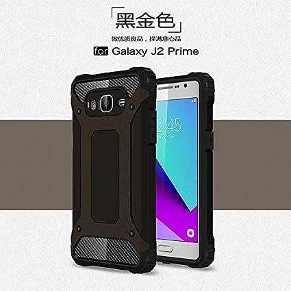 new products 7e0b4 e7463 Amazon.com: Galaxy J2 Prime Case,Dual Layer Heavy Duty Hybrid Armour ...