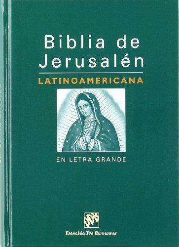 Read Online Biblia de Jerusalen: Latinoamericana En Letra Grande (Spanish Edition) by American Bible Society (2005-01-01) pdf