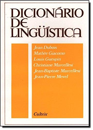 Dicionário de Linguística