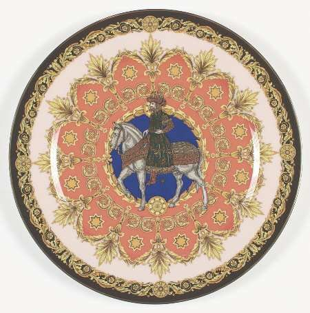 Rosenthal - Continental Versace Christmas Plates with Box, Collectible - 4005937