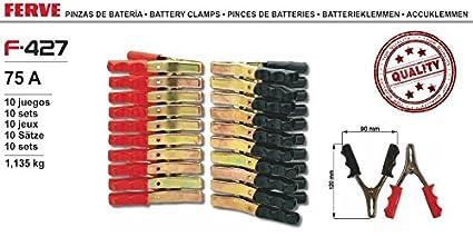 Ferve Pinzas de bateria 75A F427