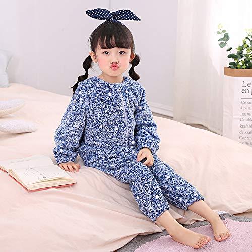 TKHCOLDM Pijamas de bebé Siameses, Franela Gruesa, chándal de ...