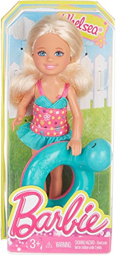 Barbie Chelsea with Swim Ring by Mattel