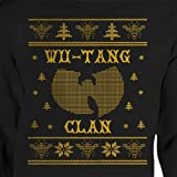 Wu Tang Ugly Christmas Sweater Unisex Crewneck Hip Hop Clan Killer Bees Rap Music 36 Chambers CREAM