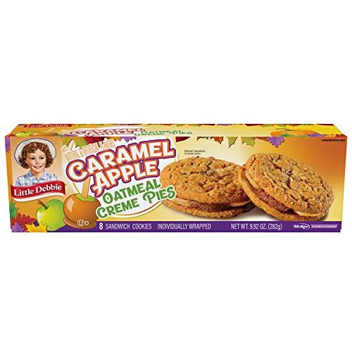 Little Debbie Caramel Apple Oatmeal Creme Pies, 4 boxes