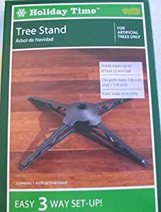 Amazon.com: Holiday Time Artificial Tree Replacement Stand ...
