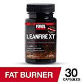 Force Factor LeanFire XT Thermogenic Weight Loss Supplement to Support Fat Oxidation with Added Energy, Endurance, and Mental Clarity, 30 Count