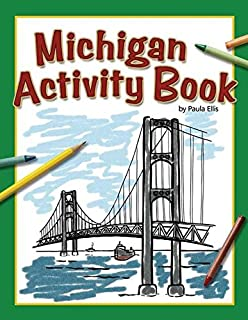 The Marvelous Michigan Coloring Book! (Michigan Experience): Carole ...