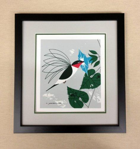Little Sipper - Framed Charley Harper Lithograph