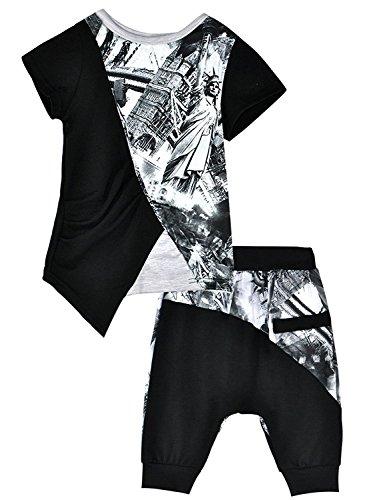 Pajamas Cartoon Toddler T Shirt Sleepwear