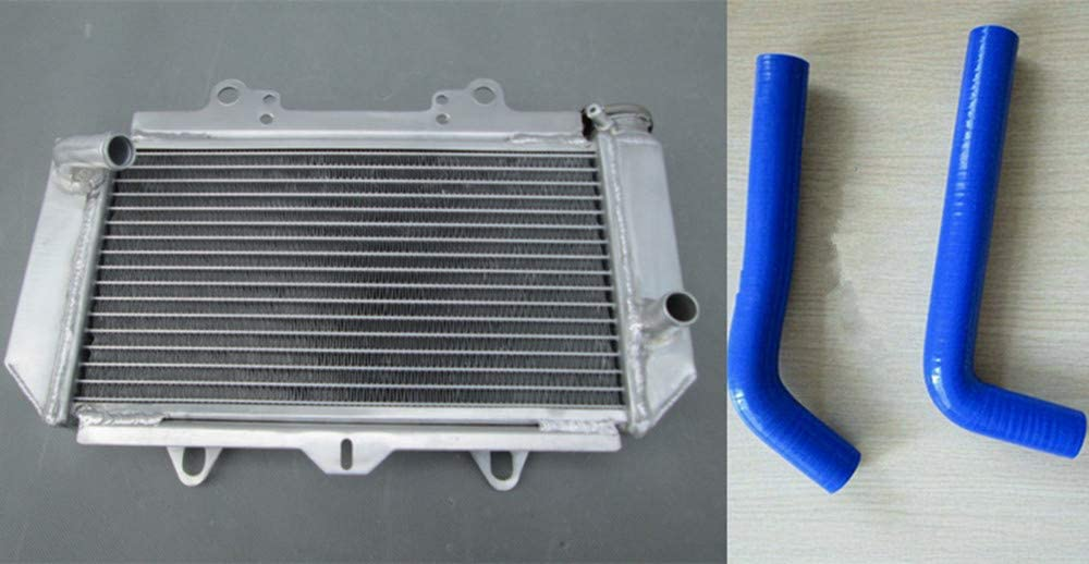 BLUE For Yamaha YFZ450 YFZ 450 2003-2008 04 05 06 07 aluminum radiator /& hose