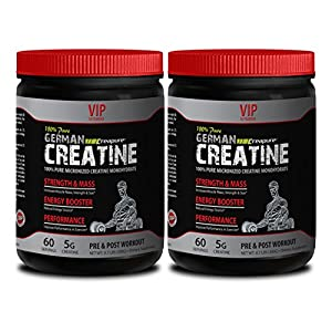 Weight lifting supplements for men - GERMAN CREATINE CREAPURE - Creatine creapure - 2 Cans 600g (120 servings)