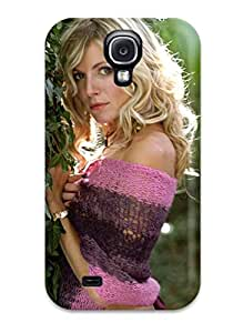 Galaxy S4 Cover Case - Eco-friendly Packaging(sienna Miller 34 Pink Violet Green Nature People Women)