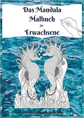 Das Mandala Malbuch Fur Erwachsene Unterwasserwelt Zum Ausmalen