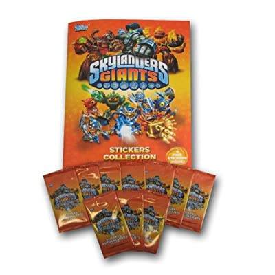 Panini Skylander Giants Sticker and Album Kit