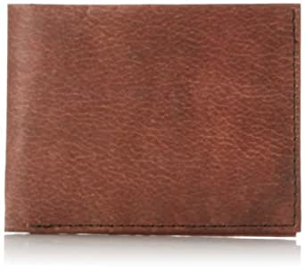 Dynomighty Men's Leather Billfold Wallet, Brown, One Size