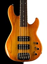 G&L USA L-2500 5 String Electric Bass, Honeyburst, Rosewood