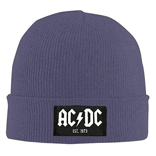 AC DC - Est. 1973 Beanie Hat Cool Beanie Winter 2016 Skull Cap KnittedToboggans WinterBeanie ()