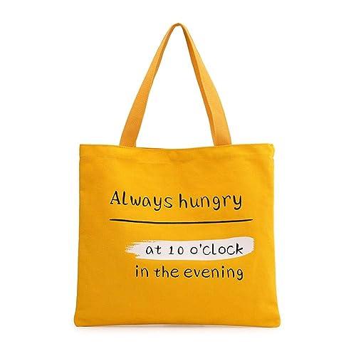 Mujeres hombro Mochila Bolsa Lienzo bolso tote Shopping Top Mango bolsas para trabajar transporte escolar,