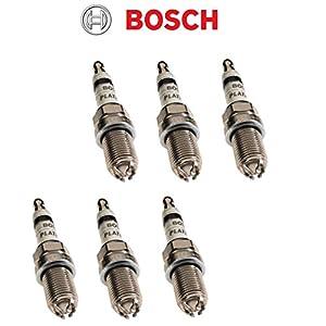 Bosch 4417 Platinum+4 FGR7DQP spark plug(Pack of 6)