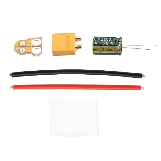 Cable de Filtro de dron, Cable de alimentación del Filtro XT60 2 ...