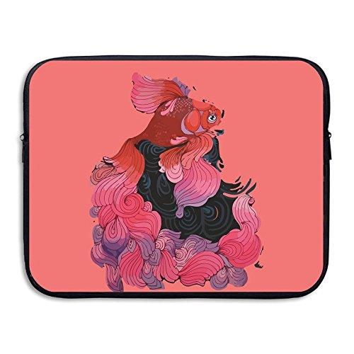 Computer Bag Laptop Case Slim Sleeve Goldfish Paintig Waterproof 13-15in IPad Macbook Surfacebook Notebook Ultrabook