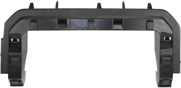 Grille Bracket Reinforcement for Ford F-Series Super Duty 11-16 Upper Textured Dark Gray Plastic-Capa