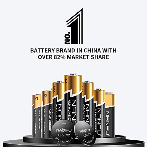 NANFU No Leakage Long Lasting AA 48 Batteries [Ultra Power] Premium LR6 Alkaline Battery 1.5v Non Rechargeable Batteries for Clocks Remotes Games Controllers Toys Electronic Devices