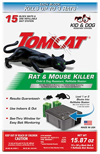 Tomcat Rat & Mouse Killer Refillable Bait Station