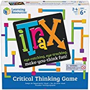 Learning Resources iTrax Critical Thinking Game, Problem Solving, Homeschool, 69 Pieces, Ages 6+