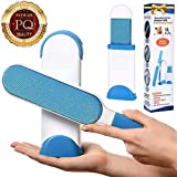 Pet Hair Remover,Pet Dog Cat Hair Remover for Furniture with Self-Cleaning Base, Double-Sided Pet Hair Removal Brushes for Household Cleaning