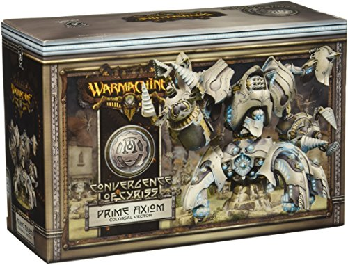Privateer Press - Warmachine - Convergence: Prime Axion Colossal Model Kit 3