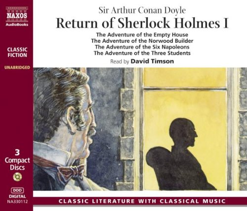 Return of Sherlock Holmes 3 Audio-CDs