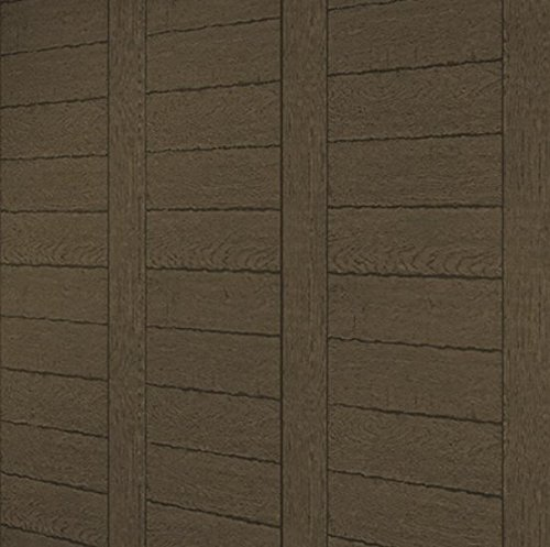 ANRO 3D Reclaimed Wood Distressed Wallpaper Wood Panel Wood Grain Décor Fire Retardant 57 Square Feet Realistic Wall Murals Room Home Decoration 20.8'' x 393.7'' Bed Rooms, Living Rooms, Kid's Rooms DIY by Anro