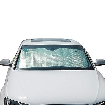 C-J-Xin Visera parasol de plata gruesa, parabrisas del camión ...