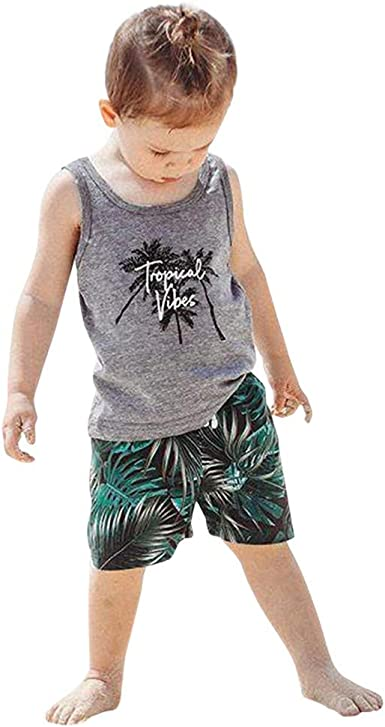 NEW Carter/'s 2T Toddler Boy Tropical 2pc Collared Dress Shirt Shorts Outfit
