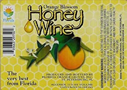 Orange Blossom Honey Wine