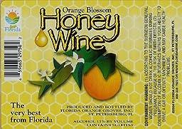Orange Blossom Honey Wine