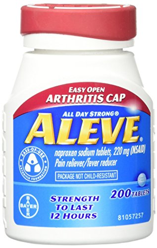 - Aleve Easy Open Arthritis Tablets, 200 Count