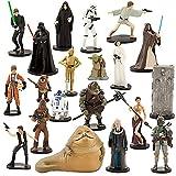 Disney Store Star Wars Mega Figure 20 Piece Play Set