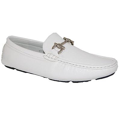 004da184ad5 Shoe Artists White Party Slip On Men s Loafer -Size 8