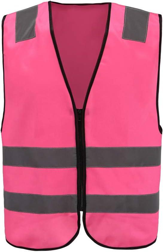 XXS-XXL XXL, ORANGE 5 colors Adult High Visibility Hi Viz Vest Waistcoat Workmans Safety hi vis vest