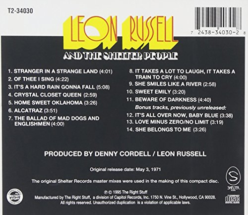 Leon Russell And The Shelter People