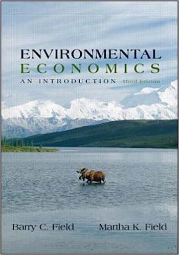 Environmental Economics (McGraw-Hill International Editions