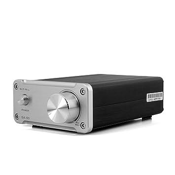 SMSL SA-50 D-AMP 2x50W TDA7492 estéreo de alta fidelidad del amplificador +