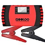 GOOLOO SuperSafe Car Jump Starter, 800A Peak 18000mAh 12V Auto Battery Booster (Up to 7.0L Gas or 5.5L Diesel Engine) Portable Power Pack Phone Charger Built-in LED Light and Smart Protection