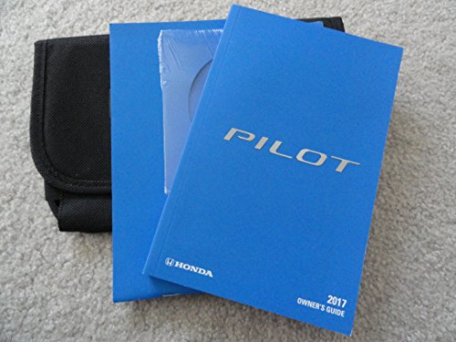 Near new 2017 Honda Pilot Owners Manual including the Honda CD and Case